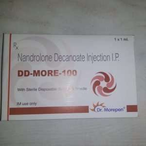 DD-MORE-100 INJECTION 1ml 100mg / NANDROLONE DECANOATE INJECTION I.P. 1ml 100mg - DR.MOREPEN