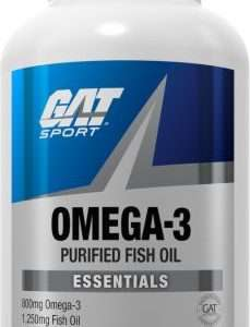 OMEGA-3 PURIFIED FISH OIL 800mg 90softgels / DIETARY SUPPLEMENT 800mg 90softgels - GAT SPORT www.oms99.in