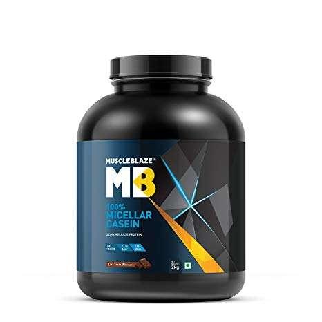 MUSCLEBLAZE 100% MICELLAR CASEIN 4.4lb - MB www.oms99.in