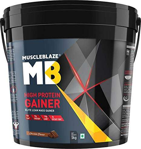 MUSCLEBLAZE HIGH PROTEIN LEAN MASS GAINER 11lb - MB www.oms99.in