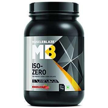 MUSCLEBLAZE ISO-ZERO 2.2lb - MB www.oms99.in