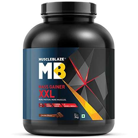 MUSCLEBLAZE MASS GAINER XXL 6.6lb - MB www.oms99.in