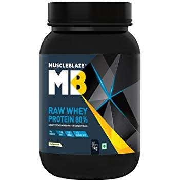 MUSCLEBLAZE RAW WHEY PROTEIN 2.2lb - MB www.oms99.in
