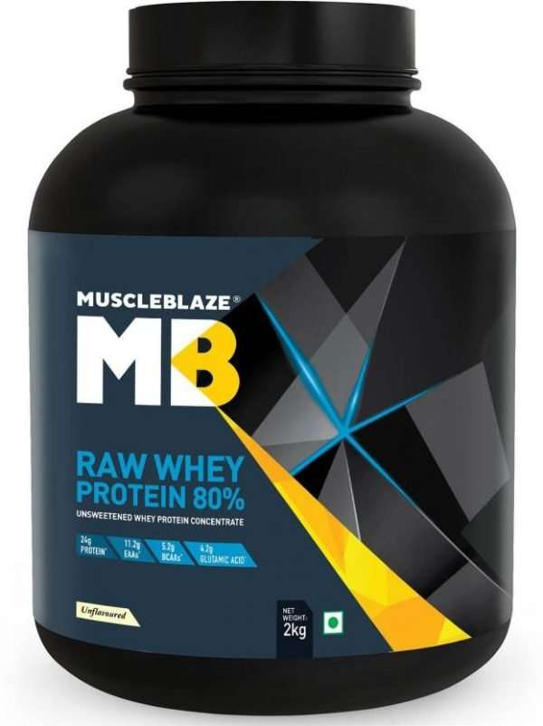 MUSCLEBLAZE RAW WHEY PROTEIN 4.4lb - MB www.oms99.in