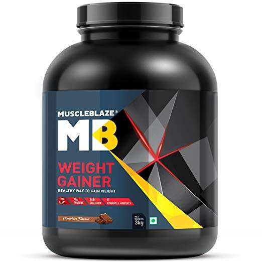 MUSCLEBLAZE WEIGHT GAINER WITH ADDED DIGEZYME 6.6lb - MB www.oms99.in