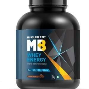 MUSCLEBLAZE WHEY ENERGY WITH DIGEZYME 4.4lb - MB www,oms99.in
