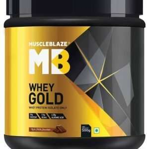 MUSCLEBLAZE WHEY GOLD PROTEIN 1.1lb - MB www.oms99.in