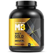 MUSCLEBLAZE WHEY GOLD PROTEIN 4.4lb - MUSCLEBLAZE www.oms99.in
