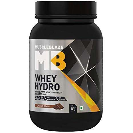 MUSCLEBLAZE WHEY HYDRO 2.2lb - MB