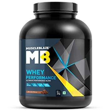 MUSCLEBLAZE WHEY PERFORMANCE 4.4lb - MB www.oms99.in
