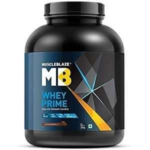 MUSCLEBLAZE WHEY PRIME(80%) PROTEIN 4.4lb - MB www.oms99.in