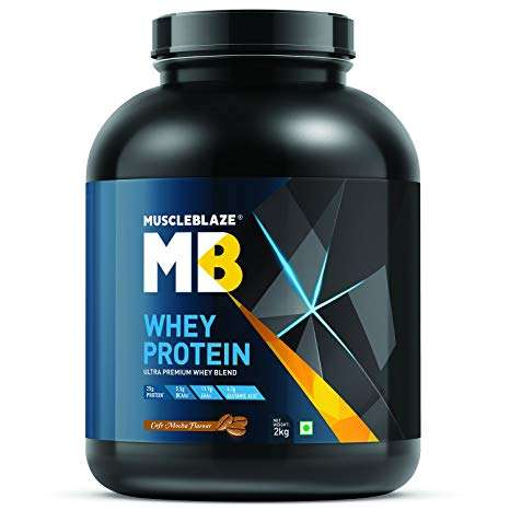 MUSCLEBLAZE WHEY PROTEIN 4.4lb - MB www.oms99.in