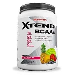 SCIVATION XTEND BCAAs 30servings / DETARY SUPPLEMENT FRUIT PUNCH 13.9OZ 30servings - SCIVATION online muscle store99