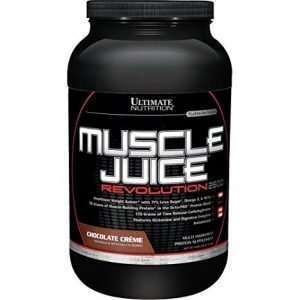 MUSCLE JUICE REVOLUTION 2600 2.12kg / PLATINUM SERIES 2.12kg - ULTIMATE NUTRITION online muscle store