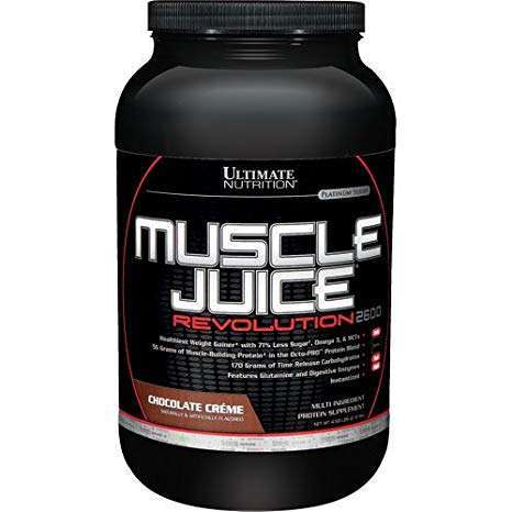 MUSCLE JUICE REVOLUTION 2600 2.12kg / PLATINUM SERIES 2.12kg - ULTIMATE NUTRITION online muscle store
