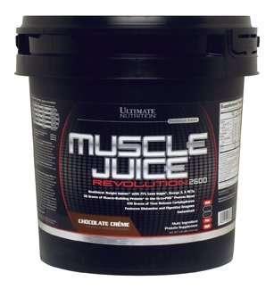 MUSCLE JUICE REVOLUTION 2600 5kg / PLATINUM SERIES 5kg - ULTIMATE NUTRITION