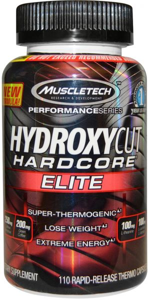 HYDROXYCUT HARDCORE ELITE FAT BURNER 110capsules SUPER THERMOGENIC LOSE WEIGHT EXTREME ENERGY 110capsules - MUSCLETECH www.oms99.in