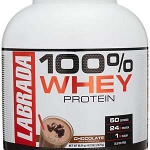 LABRADA 100% WHEY PROTEIN 4.13lb DIETARY SUPPLEMENT 4.13lb - LABRDA NUTRITION www.oms99.in