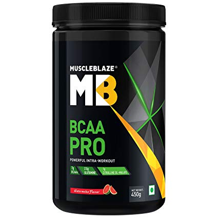 MUSCLEBLAZE BCAA PRO 450gm POWERFUL INTRA-WORKOUT 450gm - MB www.oms99.in