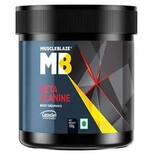 MUSCLEBLAZE BETA ALANINE PRE-WORKOUT 100gm BOOST ENDURANCE 100gm - MB www.oms99.in