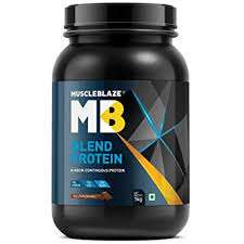 MUSCLEBLAZE BLEND PROTEIN 2.2lb - MB www.om99.in