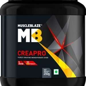 MUSCLEBLAZE CREAPRO CREATINE 250gm PUREST CREATINE MONOHYDRATE EVER 250gm - MB www.oms99.in
