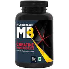 MUSCLEBLAZE CREATINE MONOHYDRATE 100gm INCREASE STRENGTH & ENDURANCE 100gm - MB www.oms99.in