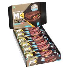 MUSCLEBLAZE HI-PROTEIN BAR (30g PROTEIN) CHOCO DELIGHT BAR - MB www.oms99.in