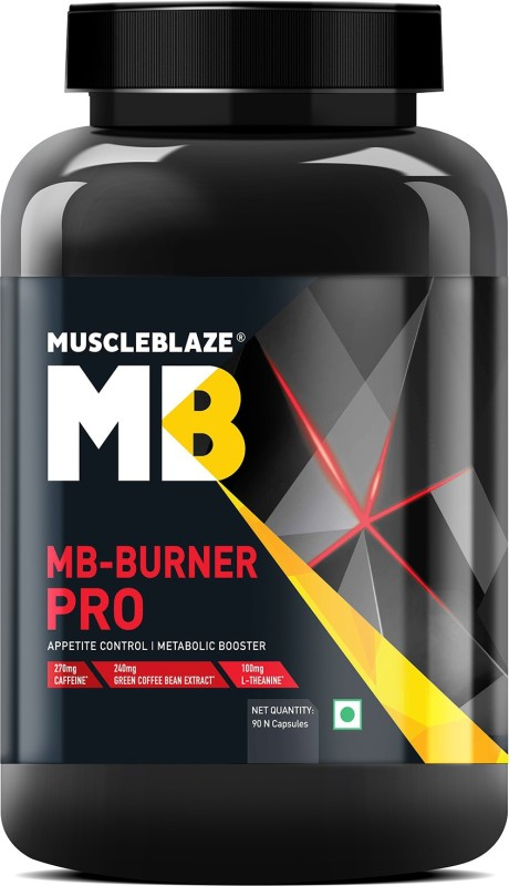 MUSCLEBLAZE MB-BURNER PRO 90capsules APPETITE CONTROL & METABOLIC BOOSTER 90capsules - MB www.oms99.in