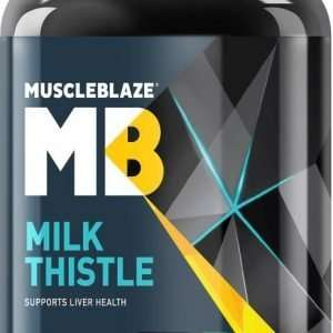 MUSCLEBLAZE MILK THISTLE 60capsules SUPPORTS LIVER HEALTH 60capsules - MB www.oms99.in