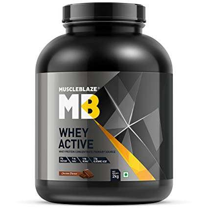MUSCLEBLAZE WHEY ACTIVE 4.4lb - MB www.oms99.in