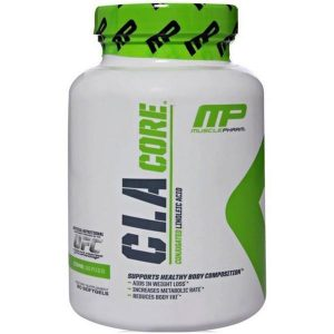 MUSCLEPHARMA CLA CORE CONJUGATED LINOLEIC ACID FAT BURNER 90softgels SUPPORTS HEALTHY BODY COMPOSITION 90softgels - MP www.oms99.in