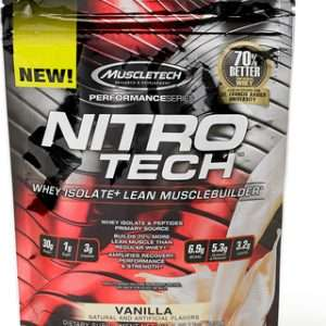 MUSCLETECH PERFORMANCE SERIES NITRO TECH 1lb WHEY ISOLATE LEAN MUSCLEBUILDER 1lb - MUSCLETECH www.oms99.in