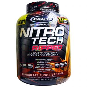 MUSCLETECH PERFORMANCE SERIES NITRO TECH RIPPED 4lbs ULTIMATE PROTEIN WEIGHT LOSS FORMULA 4lbs - MUSCLETECH www.oms99.in