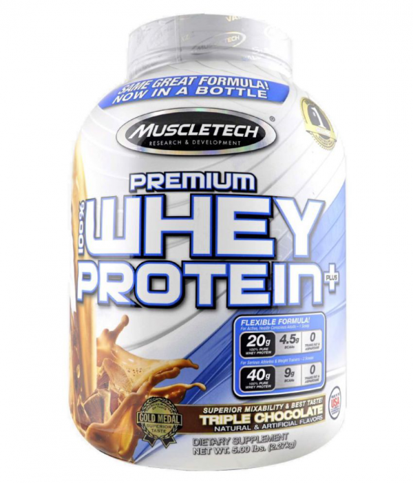 MUSCLETECH PREMIUM 100% WHEY PROTEIN PLUS 5lb DIETARY SUPPLIMENT 5lb - MUSCLETECH www.oms99.in