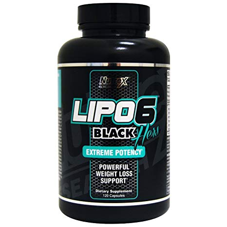 NUTREX LIPO 6 BLACK HERS EXTREME POTENCY FAT BURNER 120capsules POWERFUL WEIGHT LOSS SUPPORT 120capsules - NUTREX RESEARCH www.oms99.in