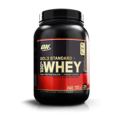 ON GOLD STANDARD 100% WHEY PROTEIN POWDER 2lbs WHEY PROTEIN ISOLATE PRIMARY SOURCE 2lbs - OPTIMUM NUTRITION www.oms99.in