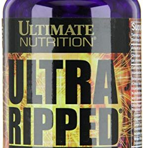 ULTIMATE NUTRITION ULTRA RIPPED EPHEDRA FREE FAT BURNER 180capsules THERMOGENIC FORMULA DIETARY SUPPLEMENT 180capsules - ULTIMATE NUTRITION www.oms99.in