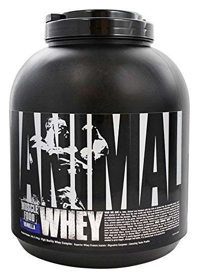 UNIVERSAL ANIMAL WHEY PROTEIN MUSCLE FOOD 4lb DIETARY SUPPLIMENT 4lb - UNIVERSAL www.oms99.in