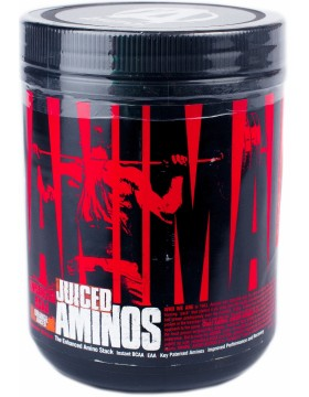 ANIMAL JUICED AMINOS ENHANCED BCAA 376gm THE ENHANCED AMINO STACK 376gm - UNIVERSAL NUTRITION www.oms99.in