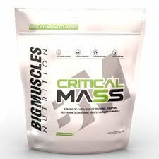 BIG MUSCLES CRITICAL MASS 11lb A BLEND OF 5 QUALITY PROTEINS CREATINE GLUTAMINE & L ARGININE MUSCLE BUILDING FORMULA 11lb - BIG MUSCLES www.oms99.in