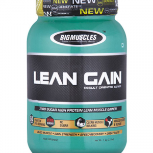 BIG MUSCLES LEAN GAIN RESULT ORIENTED SERIES 6lb ZERO SUGAR HIGH PROTEIN LEAN MUSCLE GAINER 6lb - BIG MUSCLES www.oms99.in