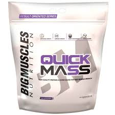 BIG MUSCLES QUICK MASS 11lb HIGH QUALITY PROTEIN & CARBS BLEND FOR MAX MUSCLE GROWTH 11lb - BIG MUSCLES www.oms99.in