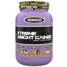 BIG MUSCLES XTREME WEIGHT GAINER RESULT ORIENTED SERIES 2.2lb HIGH QUALITY WEIGHT GAIN POWDER FOR BUILDING SERIOUS MASS 2.2lb - BIG MUSCLES www.oms99.in
