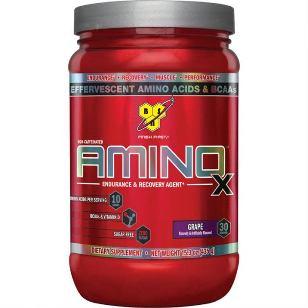 BSN AMINO X BCAA ENDURANCE & RECOVERY AGENT 435gm EFFRVESCENT AMINO ACID & BCAA 435gm - BSN www.oms99.in