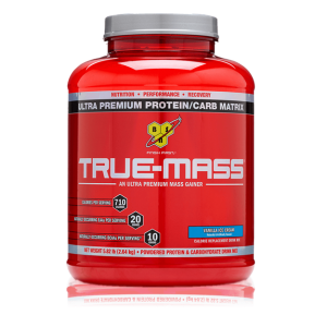 BSN TRUE MASS AN ULTRA PREMIUM MASS GAINER 5.82lb ULTRA PREMIUM PROTEIN CARB MATRIX 5.82lb - BSN www.oms99.in