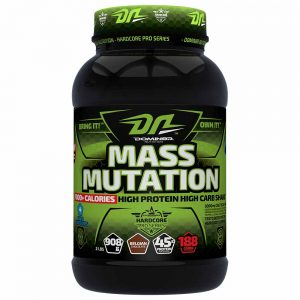 DOMIN8R MASS MUTATION 2lb HIGH PROTEIN HIGH CARB SHAKE 2lb - DOMIN8R NUTRITION www.oms99.in
