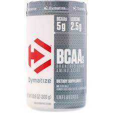 DYMATIZE BCAA BRANCHED CHAIN AMINO ACIDS 60servings DIETARY SUPPLEMENT 60servings - DYMATIZE www.oms99.in