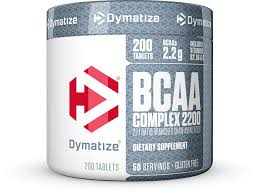 DYMATIZE BCAA COMPLEX 2200 200tablets 211 RATIO BRANCHED CHAIN AMINO ACIDS 200tablets - DYMATIZE www.oms99.in