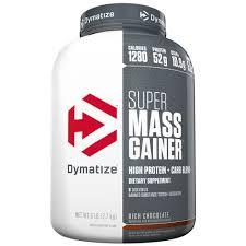 DYMATIZE SUPER MASS GAINER 6lb DIETARY SUPPLEMENT 6lb - DYMATIZE www.oms99.in